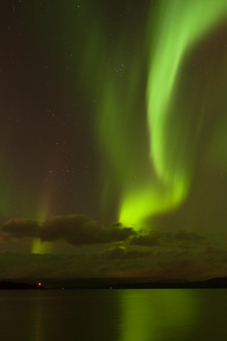 Northern Lights stock 2 by Aredelsaralonde