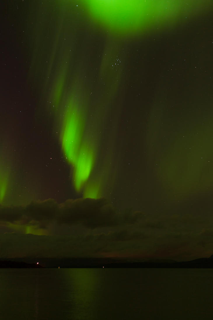 Northern Lights stock 3 by Aredelsaralonde