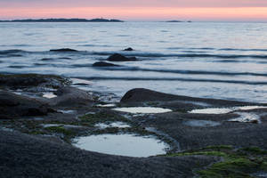 Sunset Waterscape Stock by Aredelsaralonde