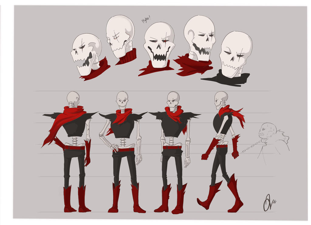 papyrus uf reference sheet by ketchupberry on deviantart