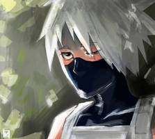 Kakashi by Ketchupberry