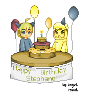 Happy Birthday Stephano! by AngelPowah