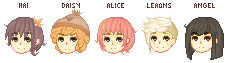 Group OC's by AngelPowah
