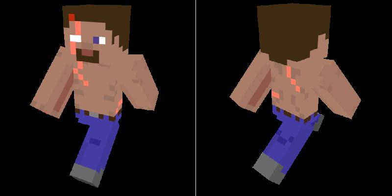 Minecraft Skin Survivor Steve By Narric Sb0 On Deviantart