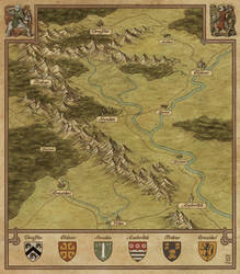 Lands of Yvrian by MaximePLASSE