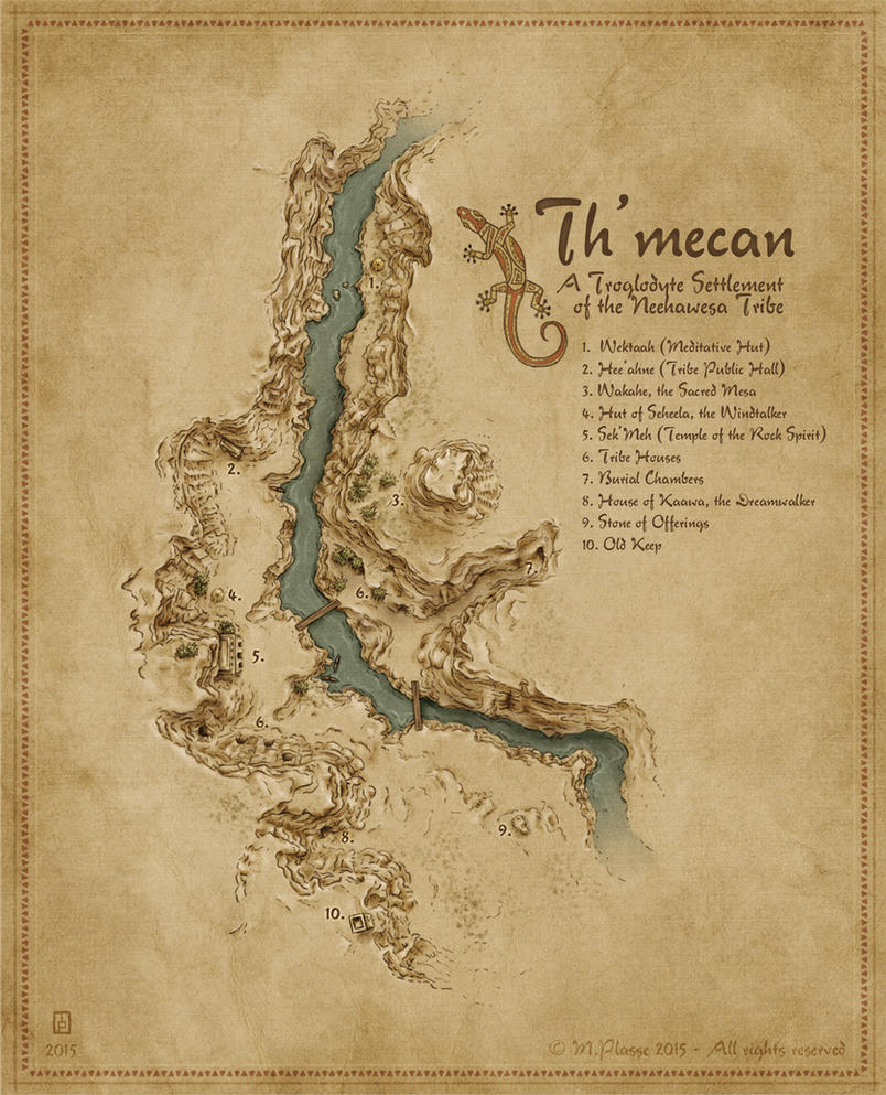 Th'mecan by MaximePLASSE