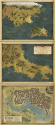 Cloak and Coins maps set by MaximePLASSE