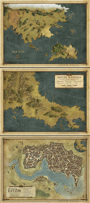 Cloak and Coins maps set