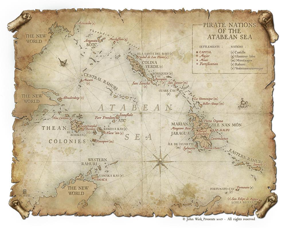 Atabean Sea by MaximePLASSE