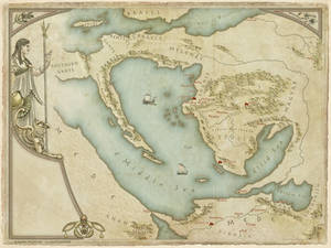 Queen's thief map