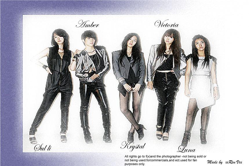 Fx- kpop group by Blackcat13t on DeviantArt