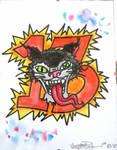 Crazy Cat with 13