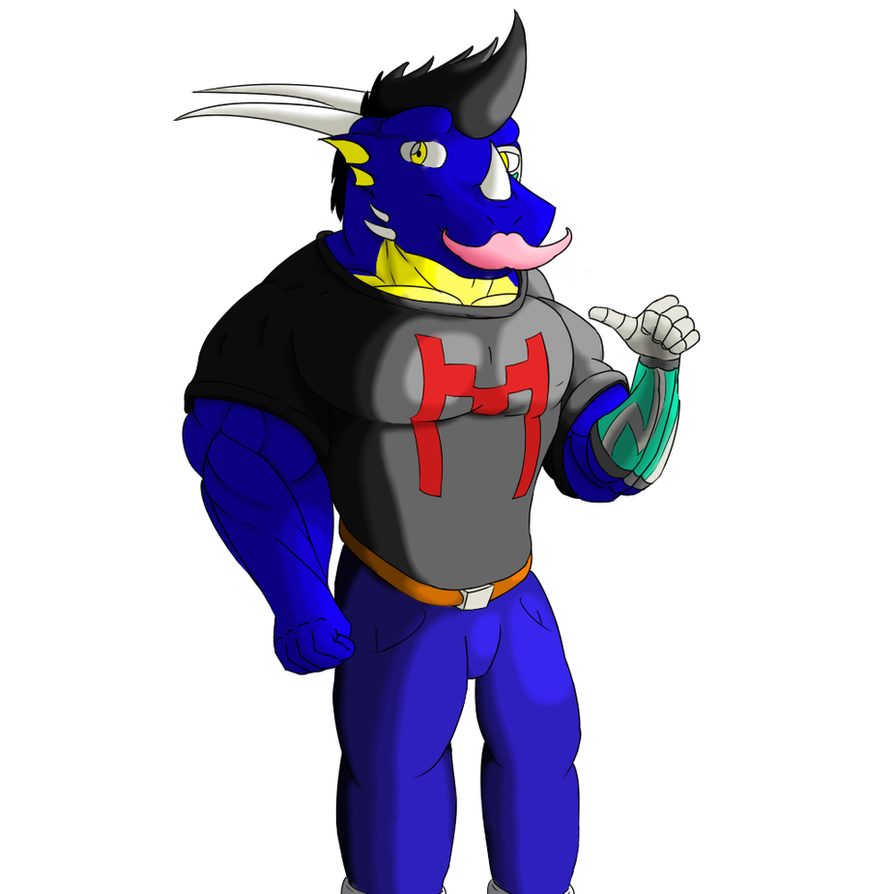DM dressed as Markiplier by DragonMaster616