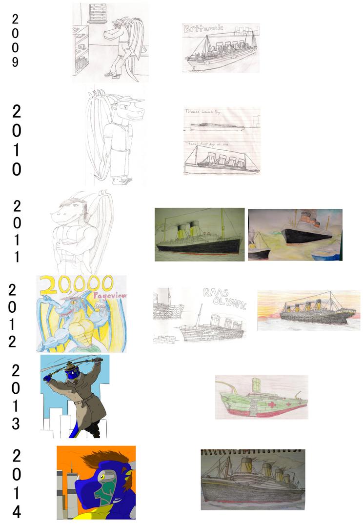 5 Years of DA by DragonMaster616