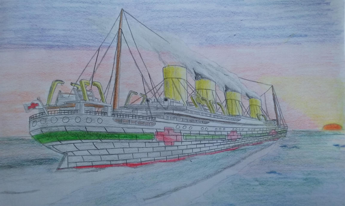 Britannic's Final Sunset by DragonMaster616