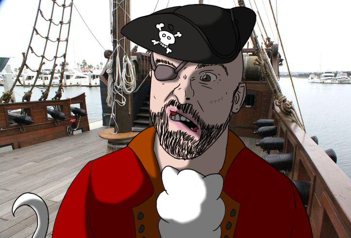 Matthew Santoro - Pirate by DragonMaster616