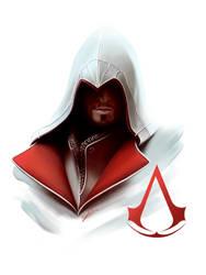 Ezio - Digital Painting by Nartemide
