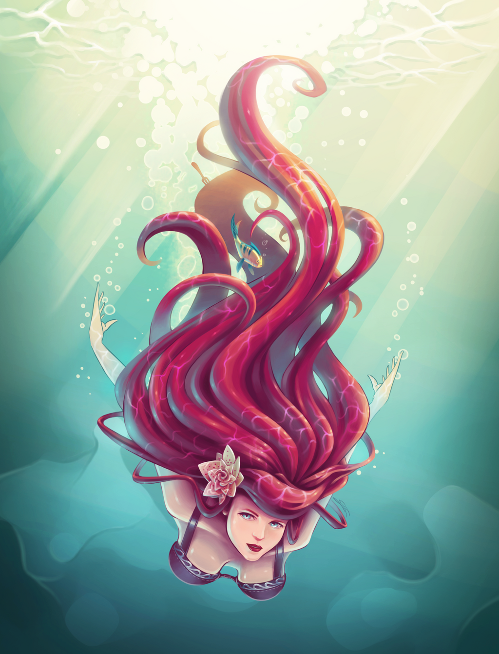 A fish out of Water by Nartemide on deviantART