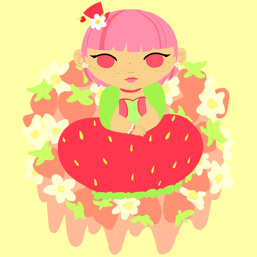 Chubby Strawberry by YouEatBugs