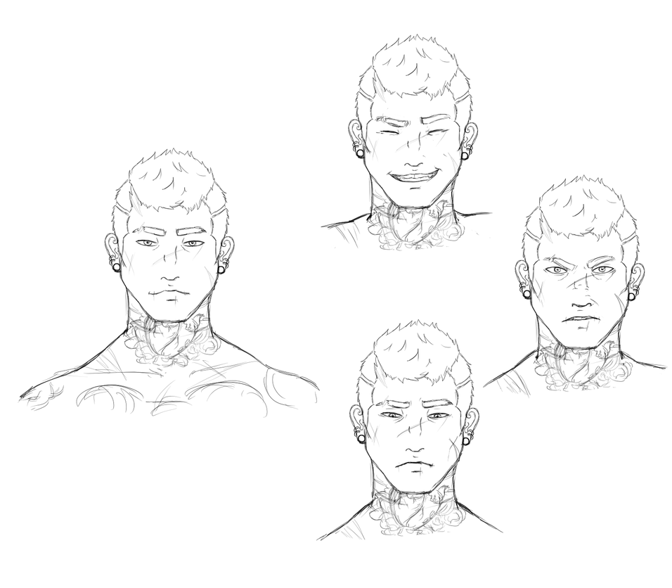 Cain Sketchies by YouEatBugs