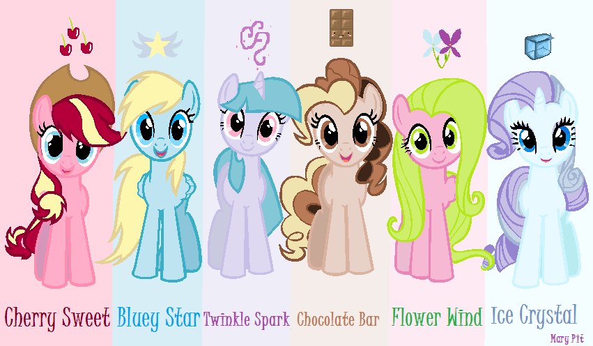 my little pony friends are awesome my mlp version by maryponyartist