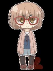 Mirai Kuriyama- Chibi