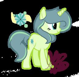 Lime Light- pony OC