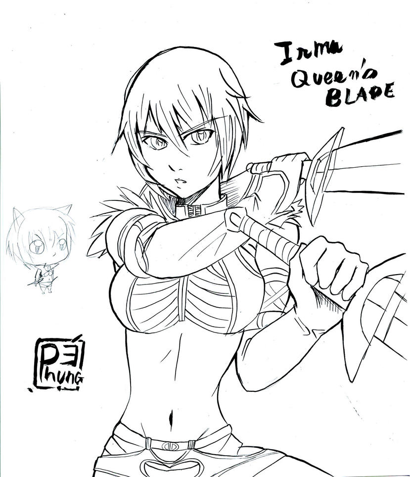Irma Queen s blade by zPePhungz