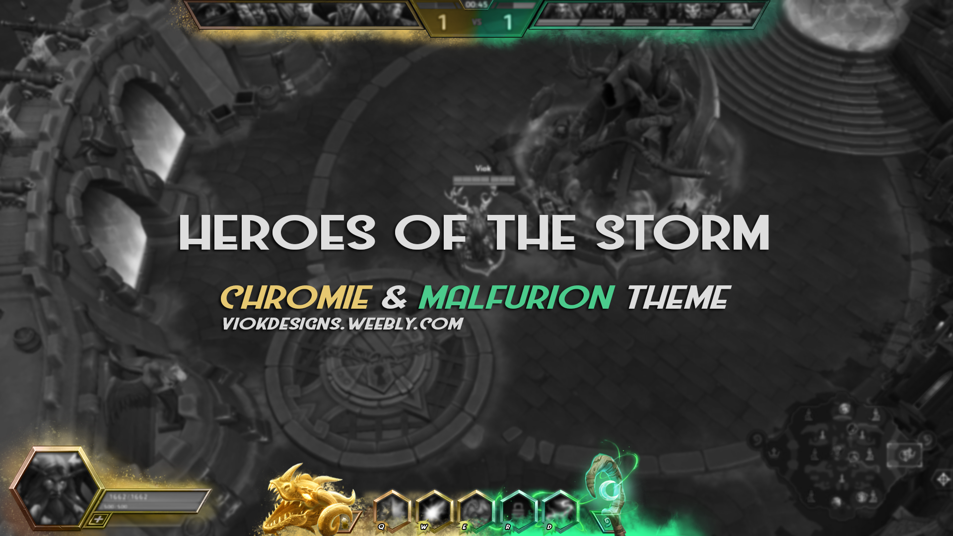 Heroes Of The Storm Overlay Chromie N Malfurion By Vioklive On Deviantart Heroes of the storm map objectives & statistics | hots logs. deviantart