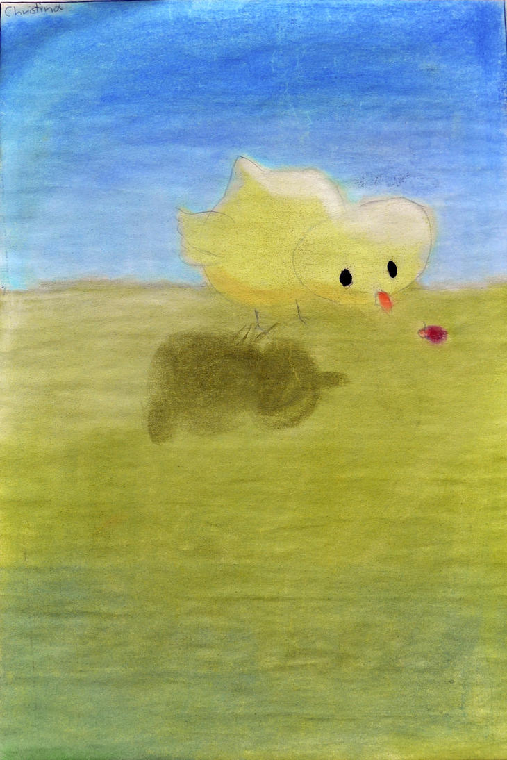 Veerrryyyy Old Chick Drawing from 1st grade (2006) by christinak0811