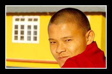 A Buddist monk