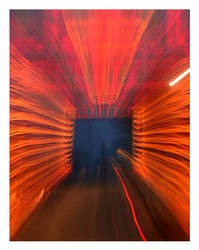 Tunnel of lights. by chinlop