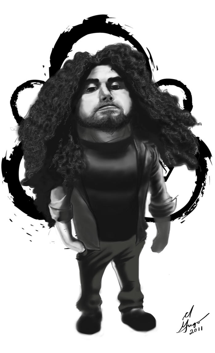 Claudio Sanchez Caricature by shiphfwd