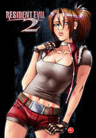 Claire Redfield by roy7zen
