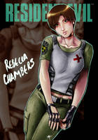 Rebecca Chambers by roy7zen