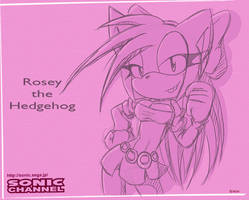 Sonic Channel Rosey by Shontiachaosmaster