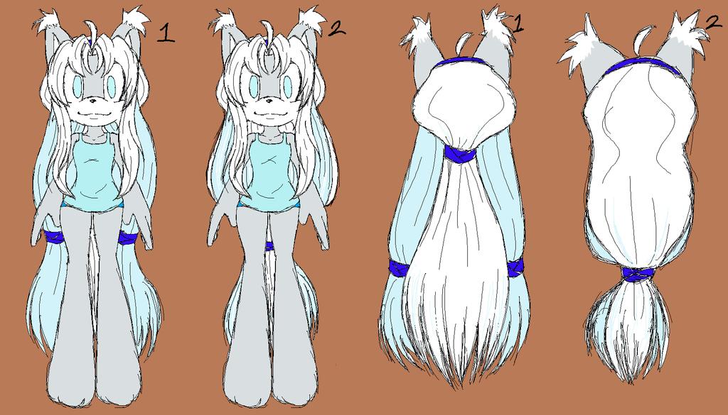New Luna Hair by Shontiachaosmaster
