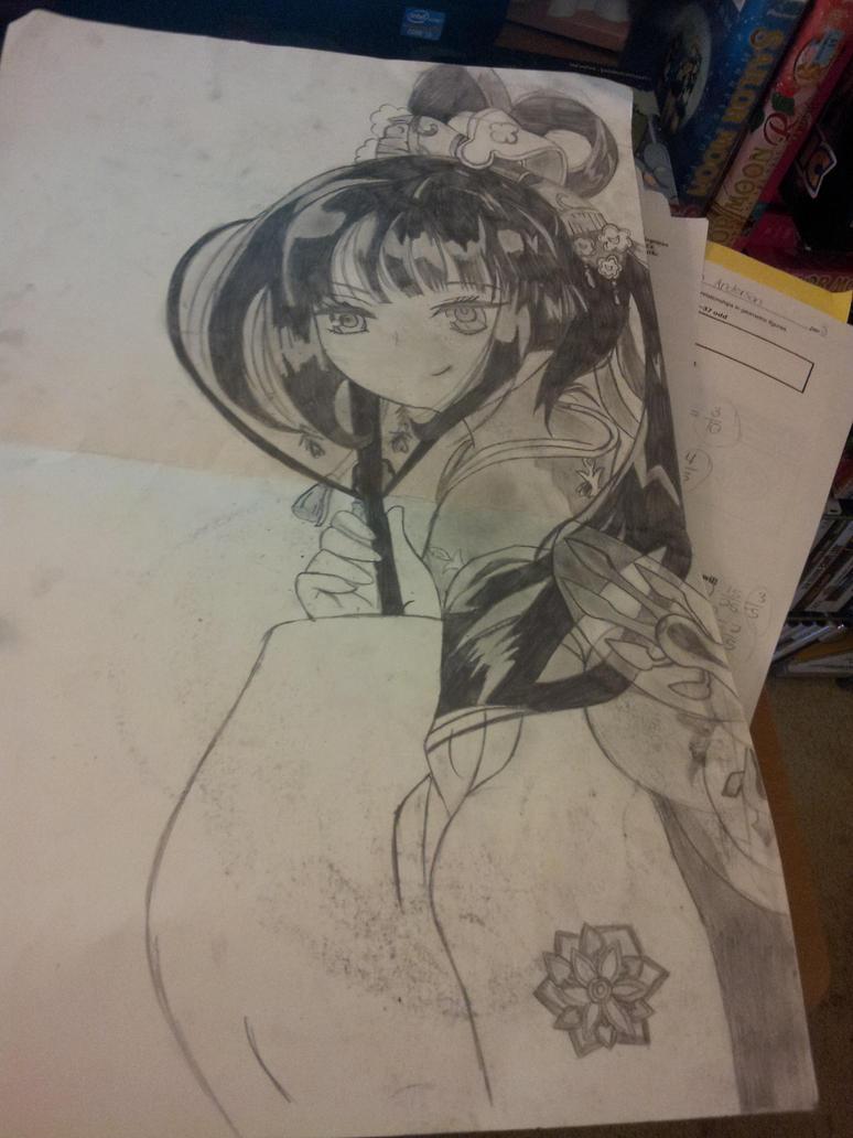 Anime Girl by TheJentheHedgehog