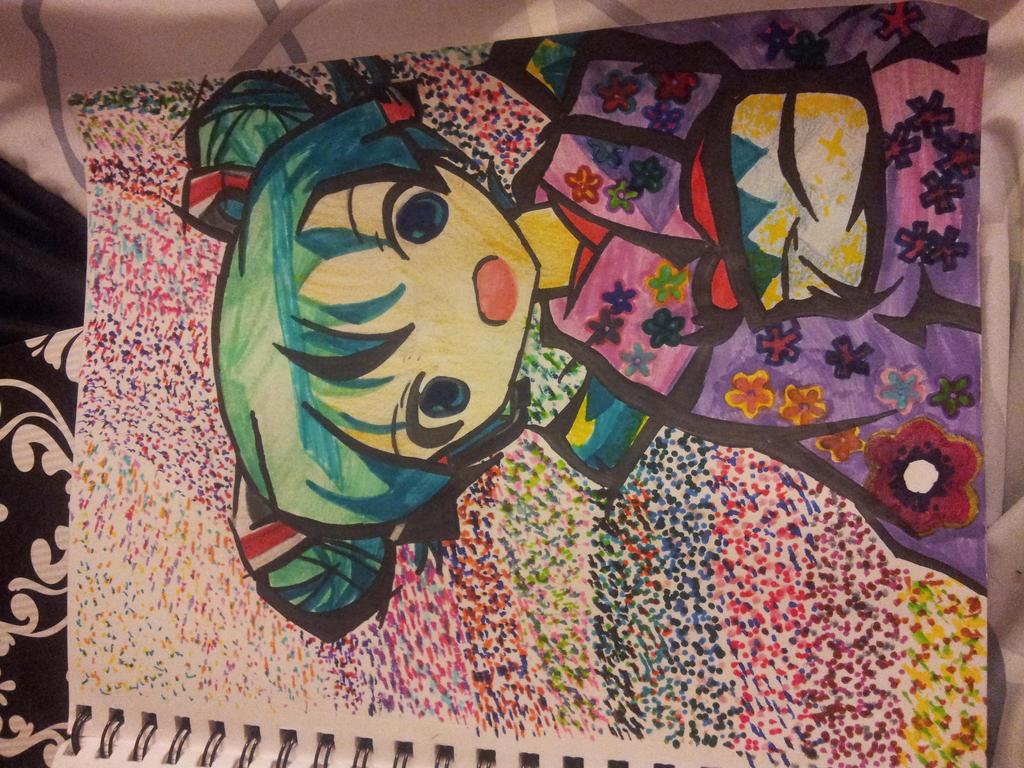 Hatsune Miku~ Colors by TheJentheHedgehog