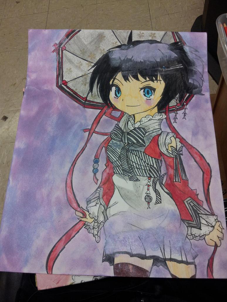 Animu Girl by TheJentheHedgehog