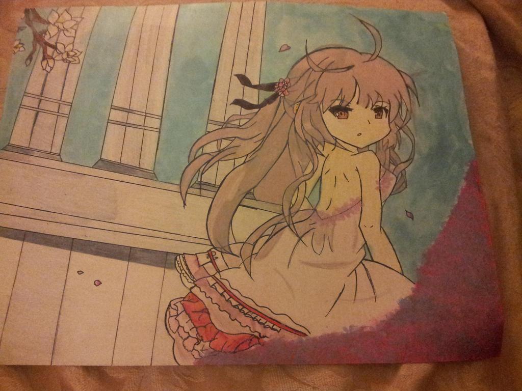 Beautiful Animu Girl by TheJentheHedgehog