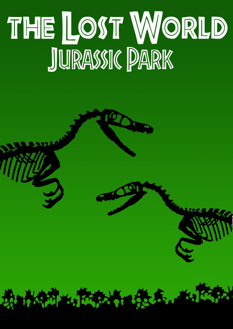 The Lost World Jurassic Park Poster By TomCyberfire