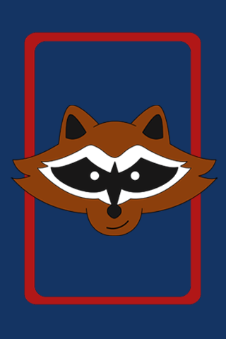 Rocket raccoon iphone wallpaper by tomcyberfire on deviantart - Rocket raccoon phone wallpaper ...