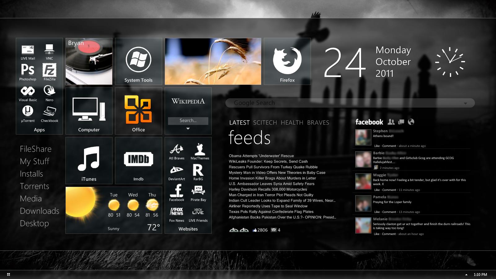 Latest Desktop by bblake