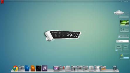 Current Windows Desktop by bblake