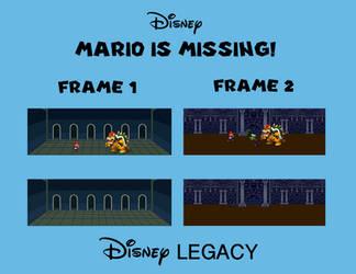 Disney MARIO IS MISSING! Template by DumbellaVanderquack