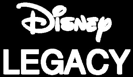Disney Legacy Logo 2 (White) by DumbellaVanderquack