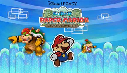 Super Paper Mario II: Craft Champion Poster by DumbellaVanderquack