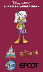 Dumbella Vanderquack in Walt Disney World by DumbellaVanderquack