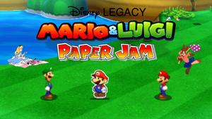 2022-09-Mario Luigi Paper Jam